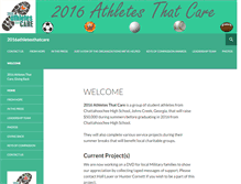 Tablet Preview of 2016athletesthatcare.org